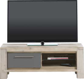 tv-dressoir 120 cm - 1-klep + 2-niches