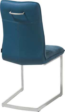 chaise - pied traineau inox carre