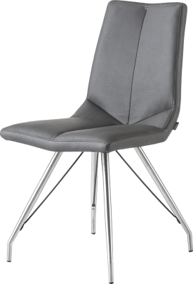 chaise inox pietement eiffel