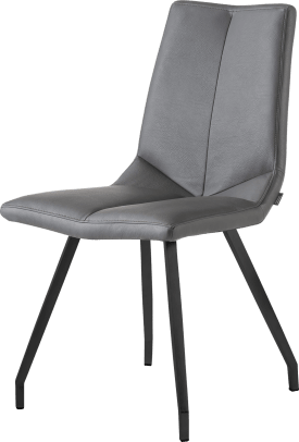 chaise noir 4 pieds - tatra anthracite