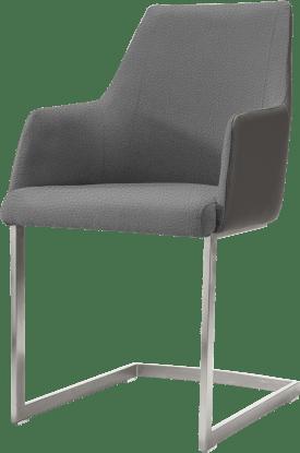 fauteuil inox