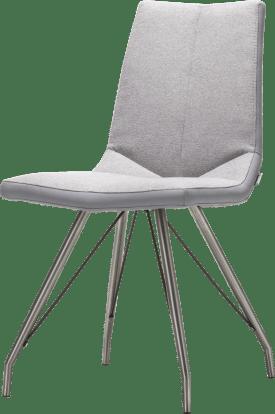 chaise inox pietement eiffel + combi moreno/forli