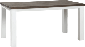table a rallonge 160 (+ 50) x 90 cm
