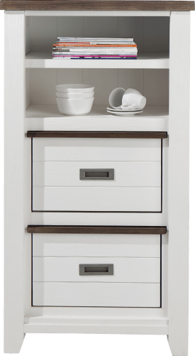 armoire 2-corbeilles + 2-niches