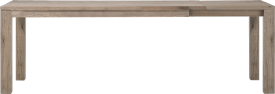 ausziehtisch 180 (+ 60) x 90 cm - holz 9x9