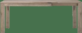 uitschuiftafel 140 (+60) x 90 cm - hout 9x9