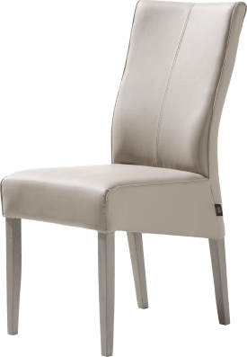 chaise pieds hetre + weathered grey + moreno