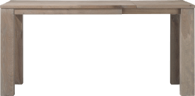 table bar a rallonge 140 (+ 60) x 90 cm - bois 12x12/10x14d