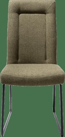 chaise - cadre tube noir