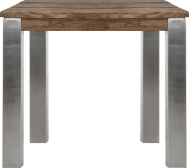 table 90 x 90 cm - inox 9x9