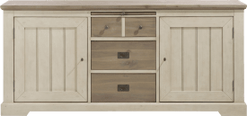 sideboard 190 cm - 2-tueren + 3-laden + 1-tablett