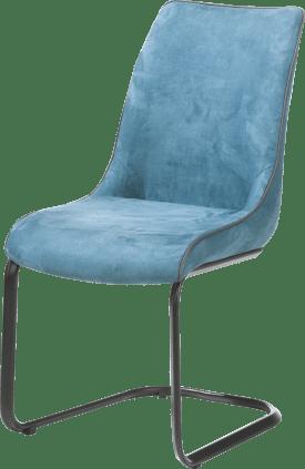 chaise - calabria avec passepoil moreno anthracite