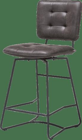 chaise de bar - cadre noir - corsica