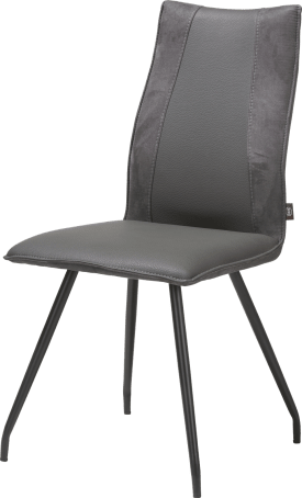 chaise - 4 pieds noir - combinaison tatra / calabria