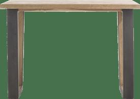 bartafel 130 x 90 cm (hoogte 92 cm)