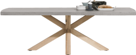 table 180 x 103 cm - plateau beton