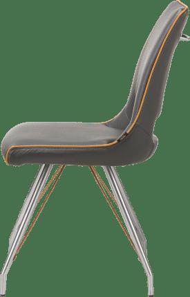 chaise inox - tatra antracite ou tatra charcoal + accent