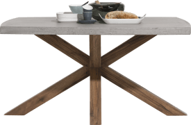 table 130 x 110 cm - plateau beton