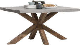 table 150 x 130 cm - plateau beton