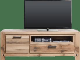 lowboard 170 cm - 1-porte + 1-tiroir + 1-niche (+ led-spot)