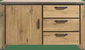 dressoir 150 cm - 1-deur + 3-laden (onderkast van 39620)