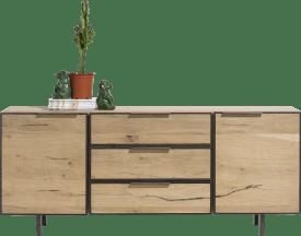 sideboard 180 cm - 2-tueren + 3-laden