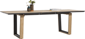 table a rallonge 190 (+ 50) x 100 cm