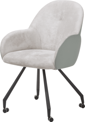 fauteuil avec roulettes - combi gibson / moreno