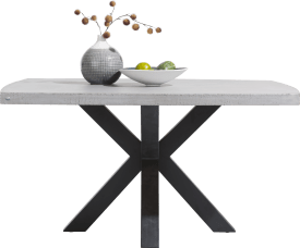 table 130 x 130 cm - plateau beton