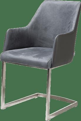 fauteuil inox - combinaison kibo/tatra