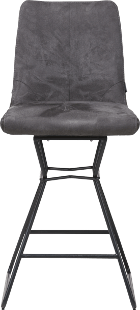 chaise de bar - pieds poudres noir - combinaison calabria/tatra