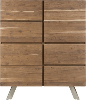 highboard 120 cm - 3-tueren + 2-laden