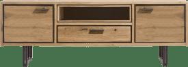 lowboard 170 cm - 2-portes + 1-tiroir + 1-niche (+led)
