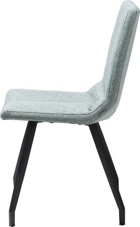 chaise noir 4 pieds - lady gris ou mint