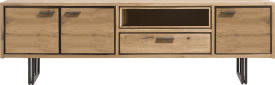 lowboard 200 cm - 3-doors + 1-drawer + 1-niche (+led)