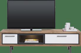 tv-sideboard 170 cm - 1-lade + 1-klappe + 1-nische (+ led)