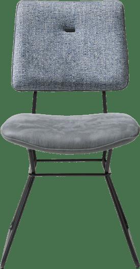chaise - cadre noir - combinaison kibo / fantasy