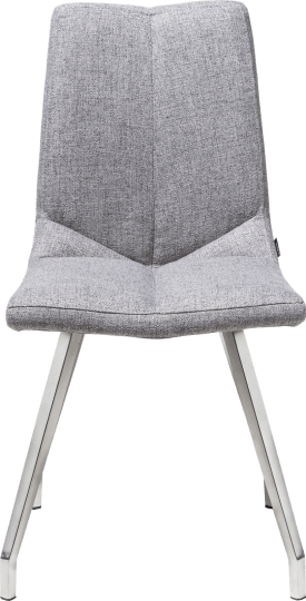 chaise 4 pieds inox - lady gris ou mint