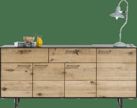 sideboard 4-tueren + 2-laden - 190 cm