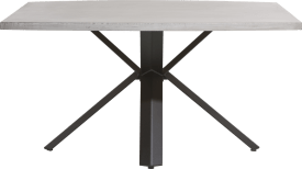 tisch 150 x 130 cm - beton - stern fuss