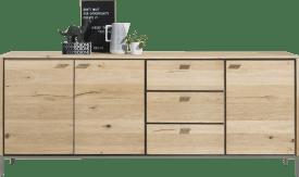 sideboard 210 cm - 3-doors + 3-drawers