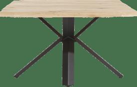 tisch 150 x 130 cm - holz - stern fuss