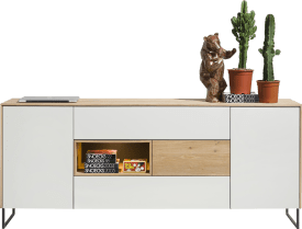 sideboard 2-doors + 3-drawers + 1-niche - 200 cm (+ led)