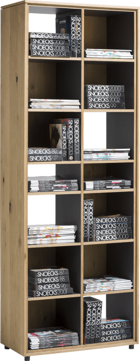 boekenkast 70 cm - 14-niches