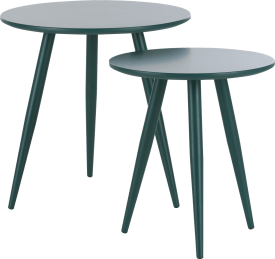 occasional table roos 50 x 50 + 40 x 40