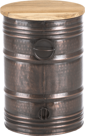 bout de canape barrel large
