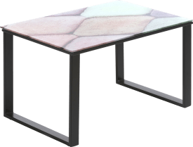 table d'appoint diamant - 65 x 65 cm