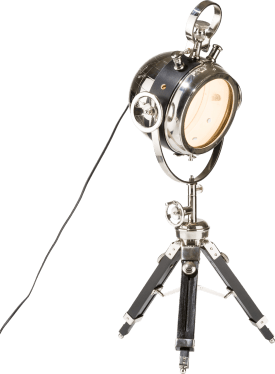 globe, lampe de table tripod