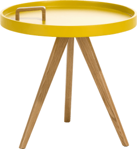 table d'appoint luca - diametre 50 cm