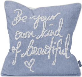 be beautiful cushion 45x45cm
